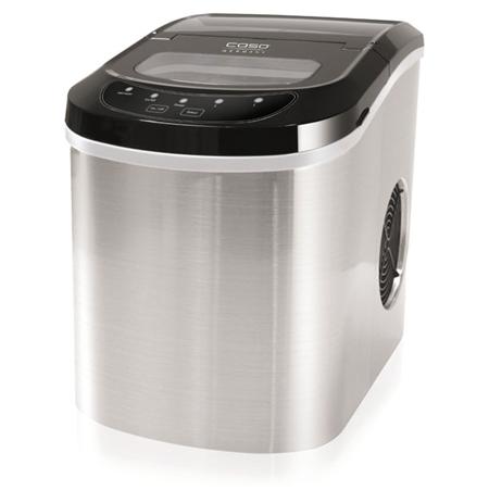 Caso IceMaster Pro, 2 ice cube sizes, Automatic stop, Inox-Black