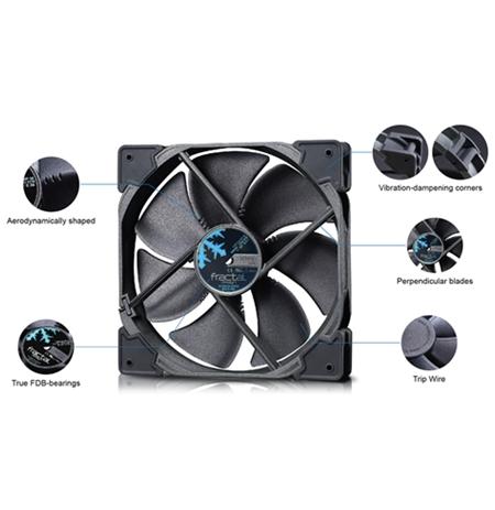 Fractal Design Venturi 140mm fan, PWM