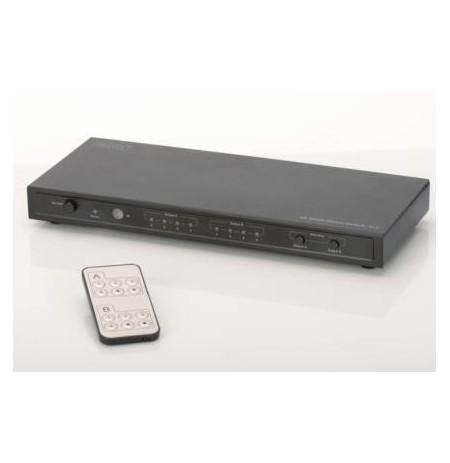 DIGITUS Matrix HDMI UltraHD 4K, 4/2-port., inc. remote