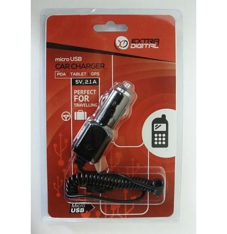 Kroviklis,  auto MICRO USB, 2.1A