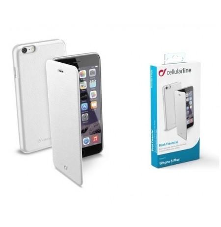 Apple iPhone 6/6S  Plus dėklas BOOK ESSEN Cellular baltas