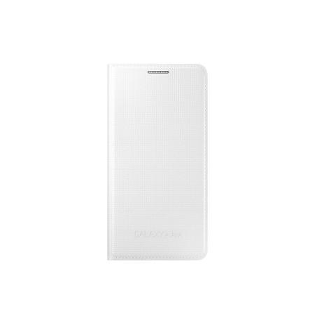 Samsung Galaxy Alpha atverčiamas dėklas baltas