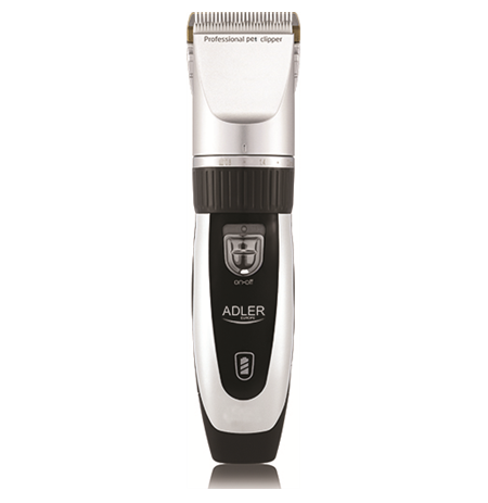 Adler AD 2823 Hair clipper for pets, Titanium head with ceramic blade, 4 comb attachments: 3, 6, 9, 12 mm