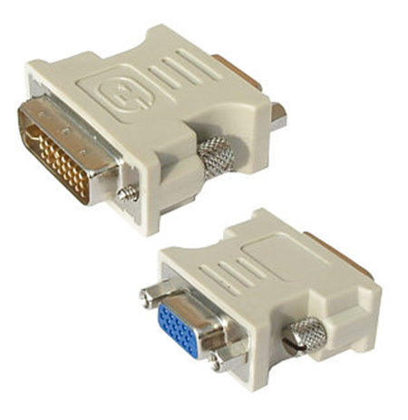 DVI Adapter, DVI-I male - HD DSUB female