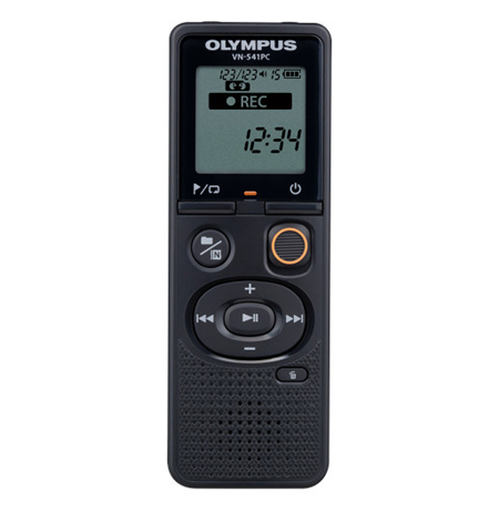 Olympus Digital Voice Recorder VN-541PC  Segment display 1.39', WMA, Black,
