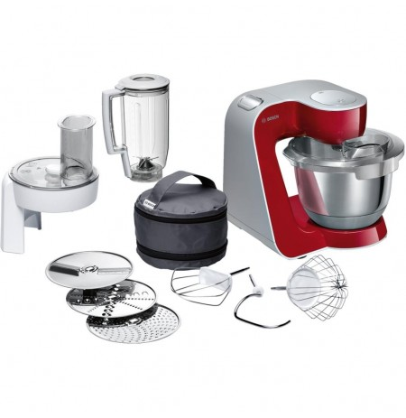 Kitchen robot Bosch MUM58720 | red