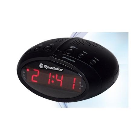 Laikrodis su radija Roadstar CLR-2466/BK