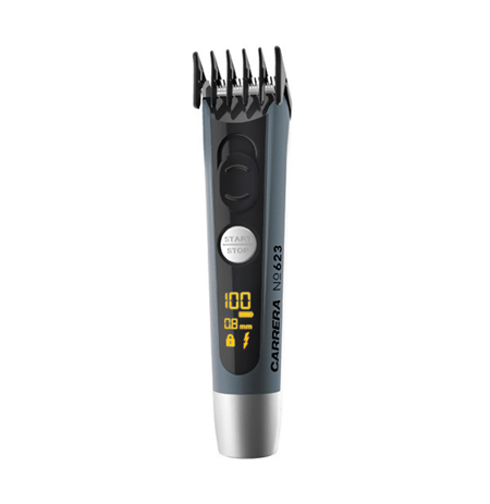 Carrera Beard Trimmer 623 Professional stainless steel cutting system with titanium coated cutting blade