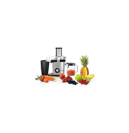 Bosch Juicer MES4010 Type Table top, Black, Silver, 1200 W, Extra large fruit input