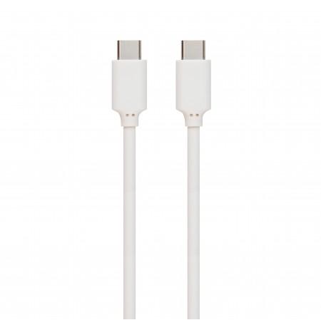 Duomenų perdavimo kabelis Type-C / Type-C Muvit baltas