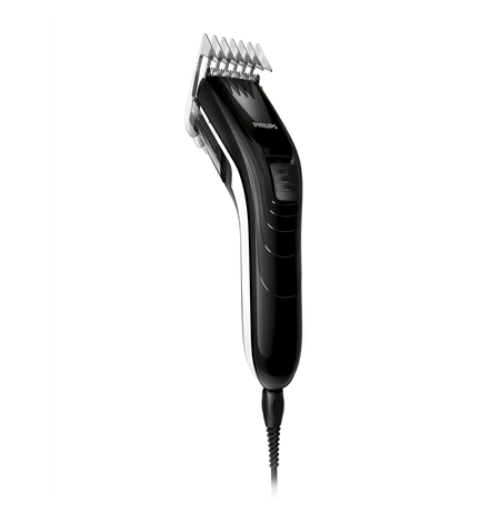 Philips Hair clipper QC5115 Hair clipper, Number of length steps 11, Rechargeable, Black, White
