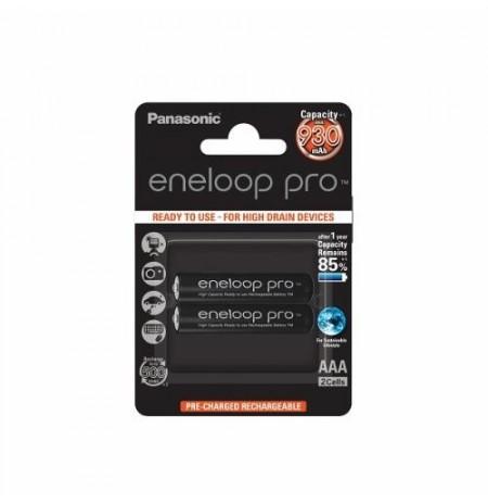 Panasonic Eneloop Pro R03/AAA 930mAh, 2 Pcs, Blister