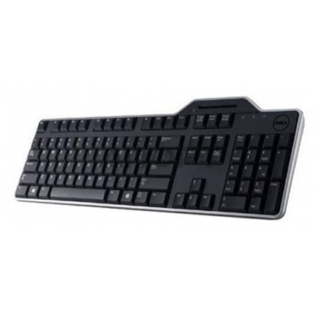 Dell KB-813 Russsian, Keyboard, Qwerty, Black, with smart card reader