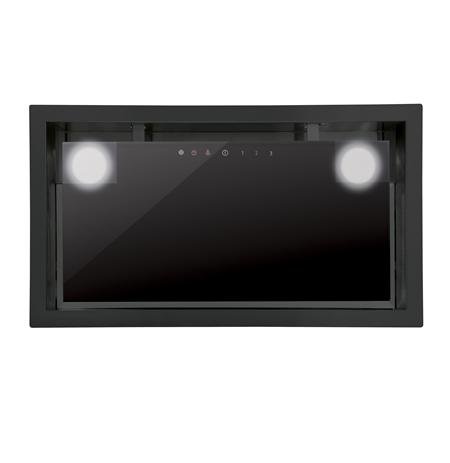 CATA GC Dual BK 45 Built-in, Plotis 49.2 - 79.2 cm, 1200 m³/h, Black, Energijos efektyvumo klasė C,  63 dB