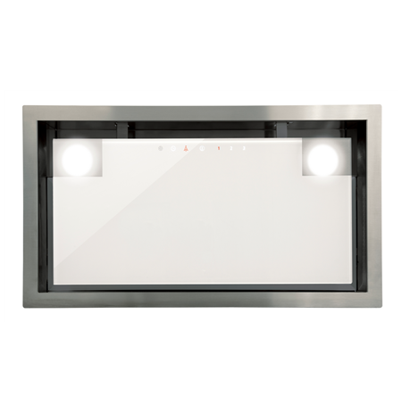 CATA Built-in cooker hood, Width 300 x 277 x 492-792 mm mm, White glass, 48-63 dB dB
