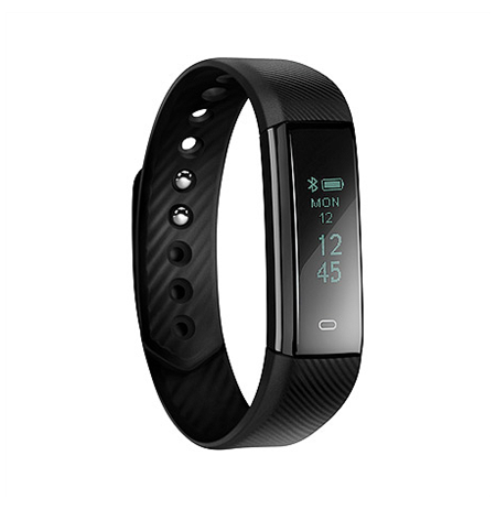 Acme Activity tracker ACT101 OLED, Black, Touchscreen, Bluetooth, Heart rate monitor, Built-in pedometer