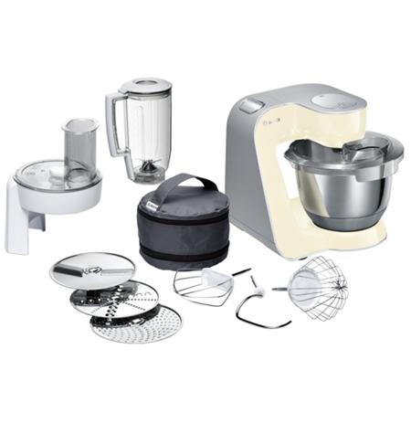 Bosch MUM58920 Beige, Grey, Stainle, 1000 W