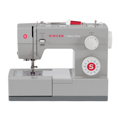 Singer Sewing machine SMC 4423 Grey, Number of stitches 23, Automatic threading