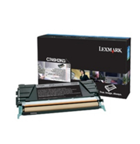 Lexmark C746, C748 Black Corporate Toner Cartridge (12K)