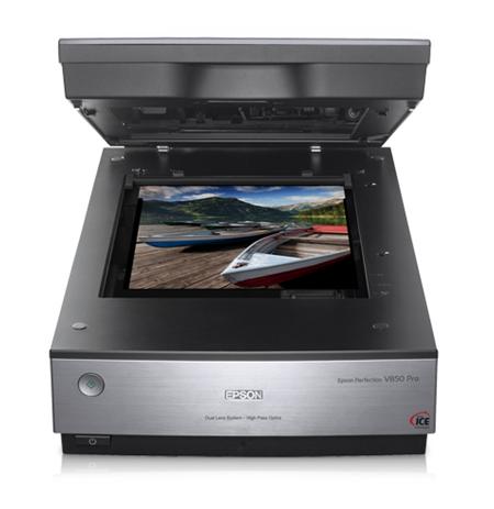 Epson Perfection V850 Pro Photo scanner / Dual Lens System / 4800dpi & 9600 dpi / Color: 48-bit / 4.0 Dmax / USB 2.0
