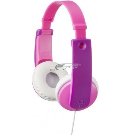 Ausinės vaikams JVC HA-KD7-P-E pink-fiol.