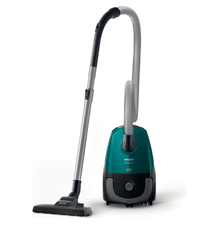 Philips PowerGo vacuum cleaner  FC8246/09 Bagged, Opal Green, 750 W, 3 L, AAA, A, D, A, 77 dB,