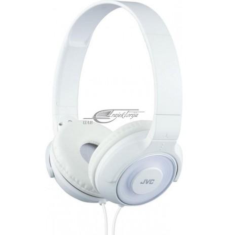 Ausinės JVC HA-S220-W-E ant ausų balta sp.
