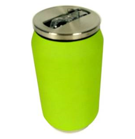 Yoko Design Isotherm Tin Can 280 ml, Soft touch lime