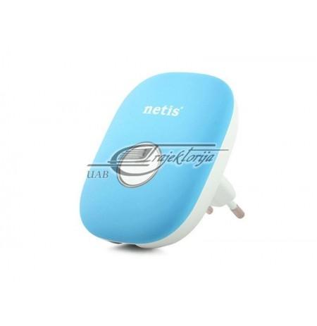 NETIS WIFI REPEATER E1+ BLUE 300 MBPS + RJ45