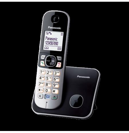 Telefonas bev. Panasonic KX-TG6811FXB