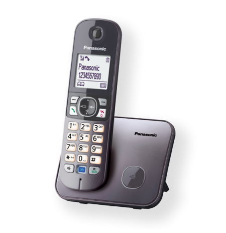Telefonas bev. Panasonic KX-TG6811FXM