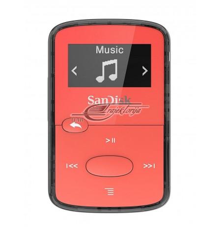 SANDISK MP3 CLIP JAM 8GB CZERWONY