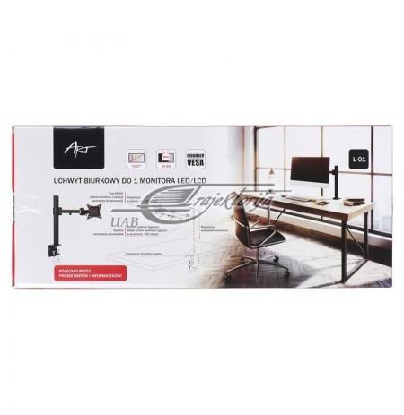 "Laikiklis monitoriui ART L-01 13""-27"" 10kg"