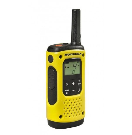 Motorola T92 H2O short-wave radio, 10 km, Black-Yellow