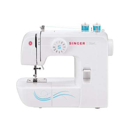 Singer Sewing machine START 1306 White, Number of stitches 6, Number of buttonholes 4