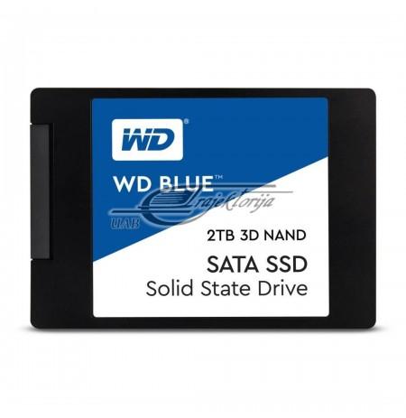 """SSD WD Blue 2.5"""" 2TB WDS200T2B0ASATA III 3D NAND"""
