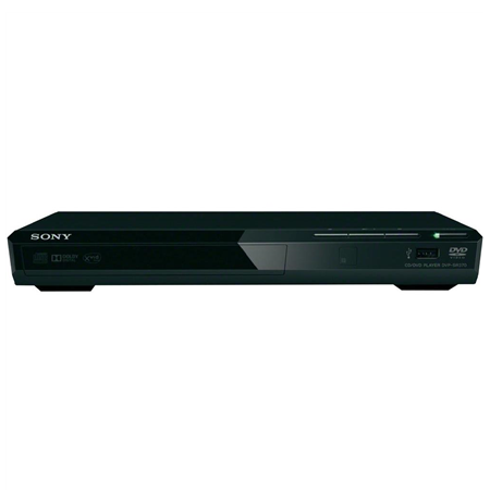 Sony DVD player DVPSR370B Bluetooth, JPEG, MP3, MPEG-4, WMA, AAC and Linear PCM