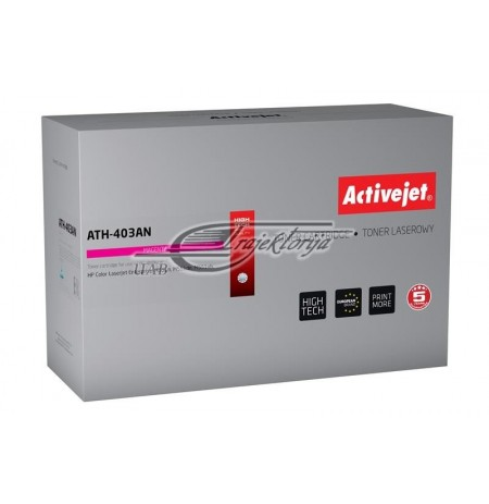 Toner Activejet ATH-403AN (for printer Hewlett Packard, compatible replacement HP 507A CE403A premium 6000pages magenta)