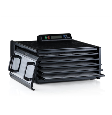 Excalibur 4548CDFB Black, 400 W, Number of trays 5, Temperature control, Integrated timer