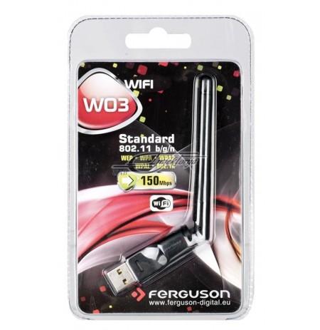 Adapteris WiFi W03 Ferguson