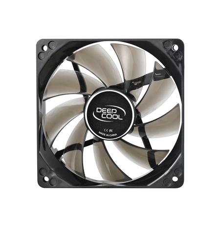 "120 mm case ventilation fan,  ""Wind Blade 120"", transparent, hydro bearing,4 LED's deepcool"