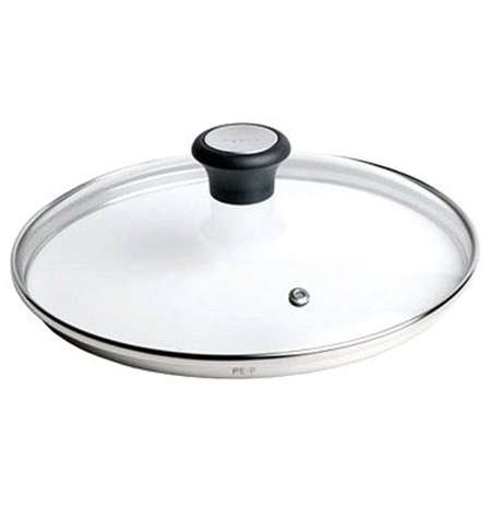 TEFAL 28097612 Type Glass lid, Black, Stainless ste