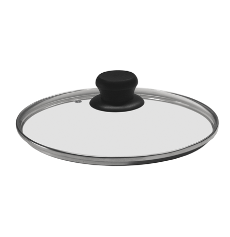 Stoneline Glass lid with stainless steel rim, Transparent