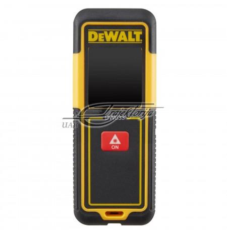 Lazerinis atstumo matuoklis DEWALT iki 30m DW033-XJ