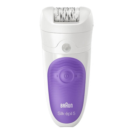 Braun Epilators Silk-épil 5 5-541  Number of speeds 2, Number of intensity levels 2, Operating time 40 min, White/lila