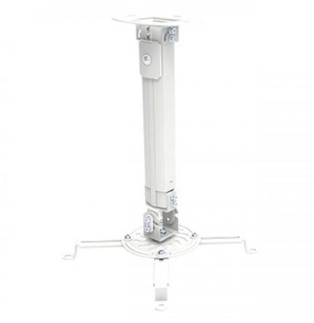 Techly universalus projektoriaus lubų laikiklis 38-58 cm 13,5kg sidabro spalvos
