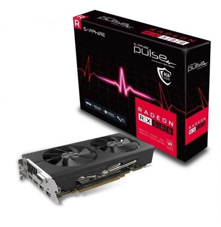 SAPPHIRE PULSE RADEON RX 580 8G GDDR5 DUAL HDMI / DVI-D / DUAL DP OC W/BP (UEFI)