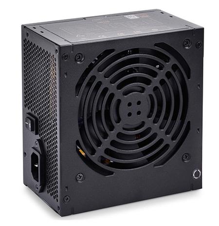 """deepcool Nova"""" series PSU  80PLUS EU,  up to +85% efficiency ,  Single +12V Rail 500 W,  on +12V: 38A  456 W"""