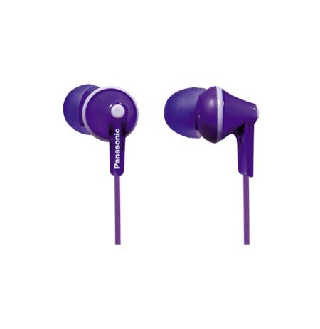 Panasonic RP-HJE125E In-ear, Violet
