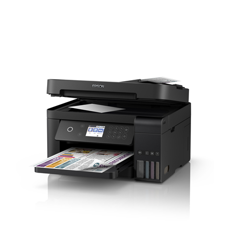 Epson Multifunctional printer L6170 Colour, Inkjet, Cartridge-free printing, A4, Wi-Fi, Black, Yes